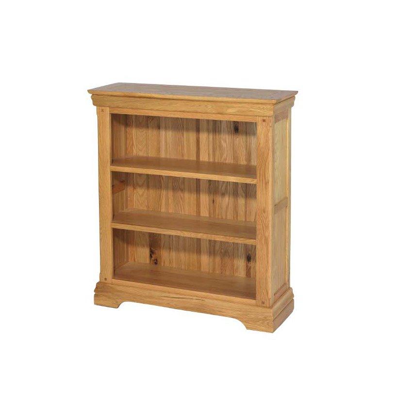 Bayonne Oak Small Bookcase